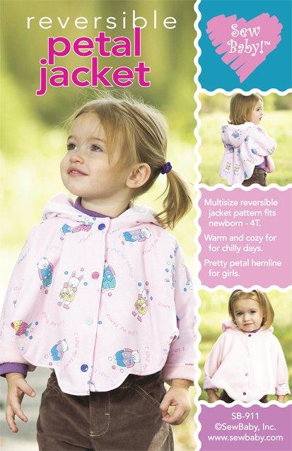 Petal Jacket pattern