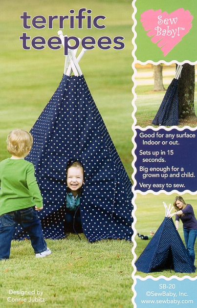 Terrific Teepees pattern
