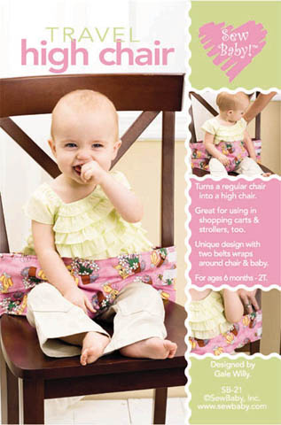 Travel High Chair pattern