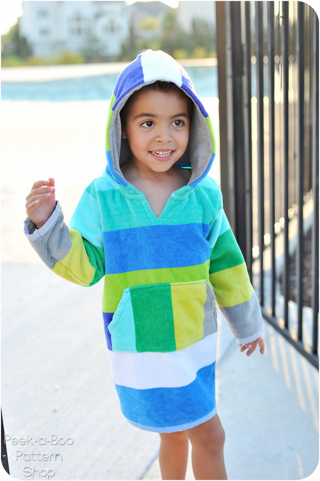 Sew Baby Laguna Beach Swim Cover Up