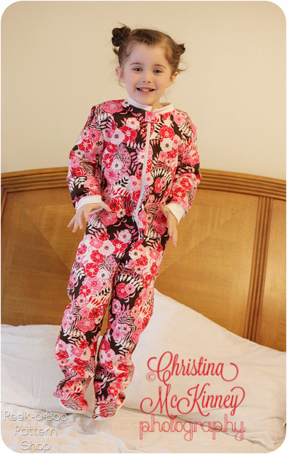 Sew Baby - Classic Footed Pajamas: 3 mos. - 8 years E-Pattern
