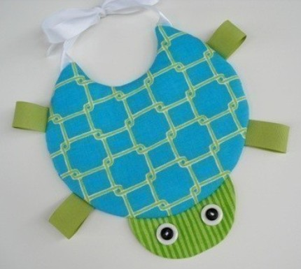 Sew Baby - Turtle, Crab, & Plain Bibs by Precious Patterns