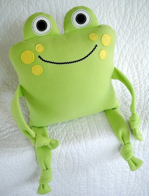 Sew Baby Precious Patterns Monkey Sheep And Frog Pillows