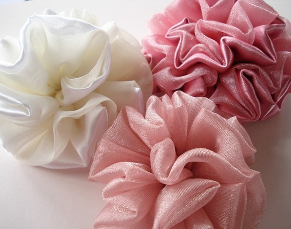 sew baby fabric flowers e pattern