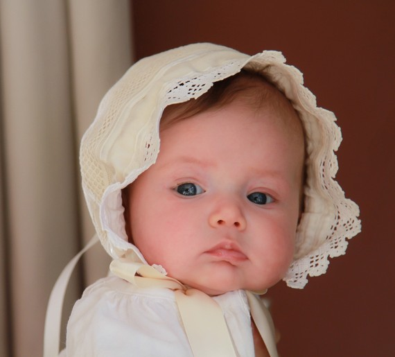 Sew Baby Adjustable Knot Bonnet For Babies E Pattern