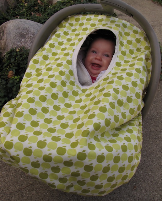 Peek A Boo Car Seat Cover Pattern