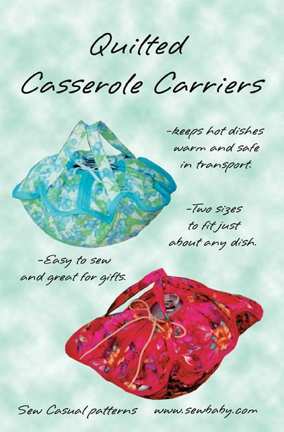Quilted Casserole Carrier | ThriftyFun