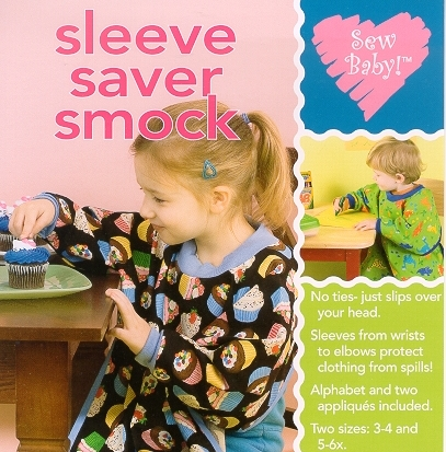 Sew Baby - Sleeve Saver Smock pattern by Sewbaby