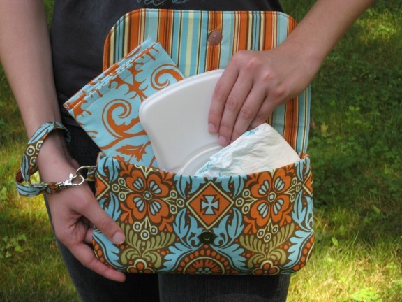 Sew Baby Grab N Go Diaper Clutch E Pattern