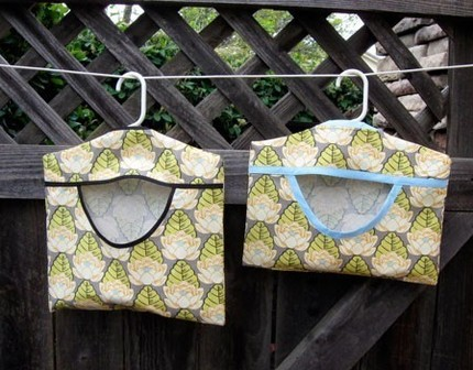 Clothes Pin Bags Pattern | Hillbilly Housewife