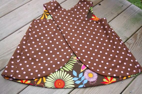 Sew Baby Criss Cross Tunic E Pattern